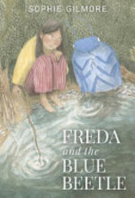 Book cover of FREDA & THE BLUE BEETLE