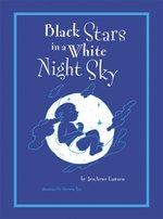 Book cover of BLACK STARS IN A WHITE NIGHT SKY