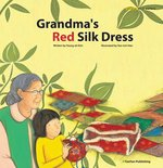 Book cover of GRANDMA'S RED SILK DRESS