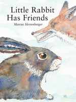 Book cover of LITTLE RABBIT HAS FRIENDS