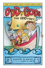 Book cover of ODD GODS 02 THE ODDYSSEY