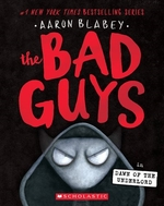 Book cover of BAD GUYS 11 DAWN OF THE UNDERLORD