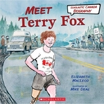 Book cover of MEET TERRY FOX