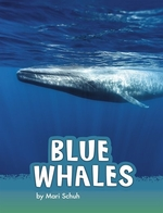 Book cover of BLUE WHALES