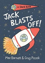 Book cover of JACK BLASTS OFF