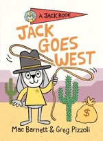 Book cover of JACK GOES WEST