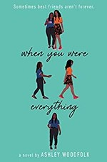 Book cover of WHEN YOU WERE EVERYTHING