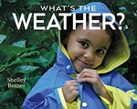 Book cover of WHAT'S THE WEATHER?