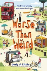 Book cover of WORSE THAN WEIRD