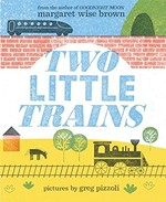 Book cover of 2 LITTLE TRAINS