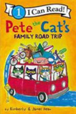 Book cover of PETE THE CAT'S FAMILY ROAD TRIP