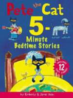 Book cover of PETE THE CAT 5-MINUTE BEDTIME STORIES