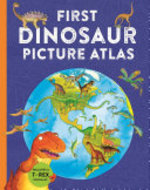 Book cover of 1ST DINOSAUR PICTURE ATLAS