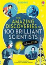 Book cover of 100 GREAT SCIENTISTS