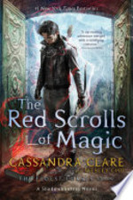 Book cover of RED SCROLLS OF MAGIC