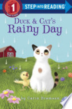 Book cover of DUCK & CAT'S RAINY DAY