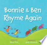 Book cover of BONNIE & BEN RHYME AGAIN