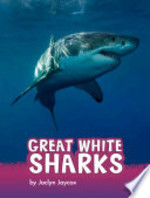 Book cover of GREAT WHITE SHARKS
