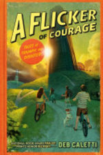 Book cover of FLICKER OF COURAGE
