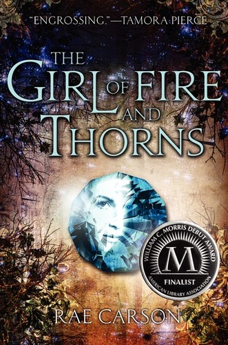 Book cover of GIRL OF FIRE & THORNS
