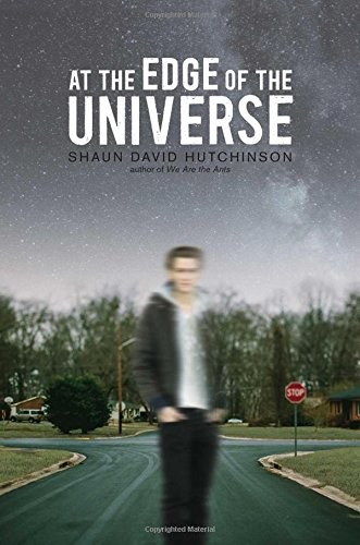Book cover of AT THE EDGE OF THE UNIVERSE