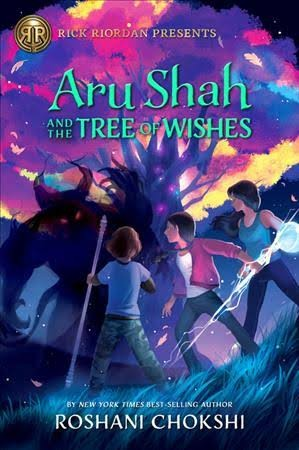 Book cover of PANDAVA 03 ARU SHAH & THE TREE OF WISHES
