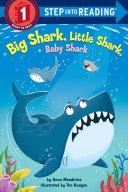 Book cover of BIG SHARK LITTLE SHARK BABY SHARK