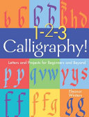 Book cover of 1-2-3 CALLIGRAPHY