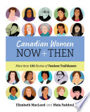 Book cover of CANADIAN WOMEN NOW & THEN