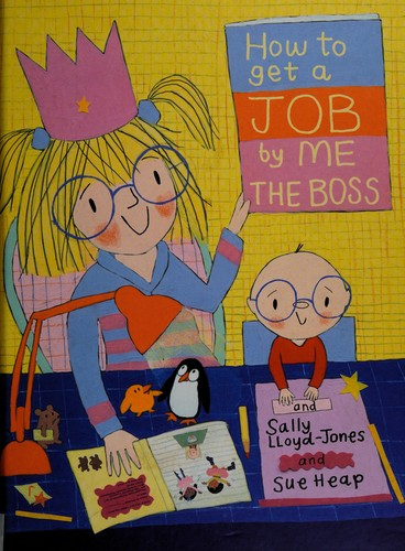 Book cover of HT GET A JOB BY ME THE BOSS
