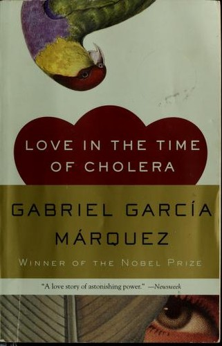 Book cover of LOVE IN THE TIME OF CHOLERA