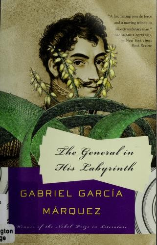 Book cover of GENERAL IN HIS LABYRINTH