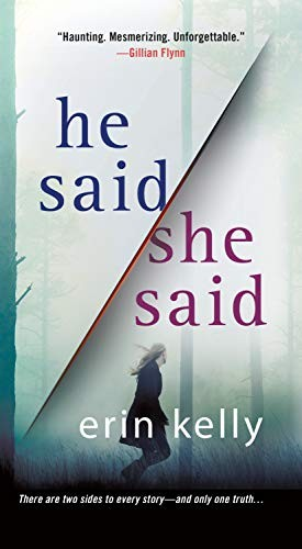 Book cover of HE SAID SHE SAID