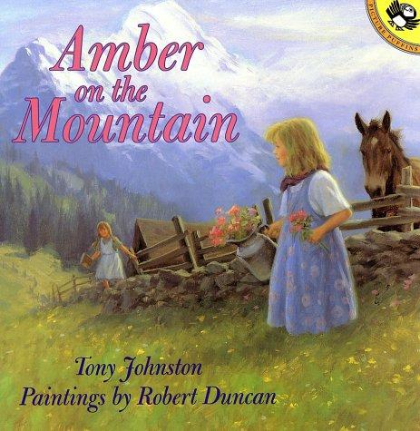 Book cover of AMBER ON THE MOUNTAIN
