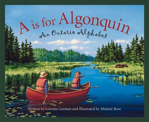 Book cover of A IS FOR ALGONQUIN