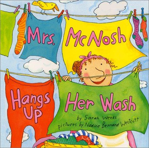 Book cover of MRS MCNOSH HANGS UP HER WASH