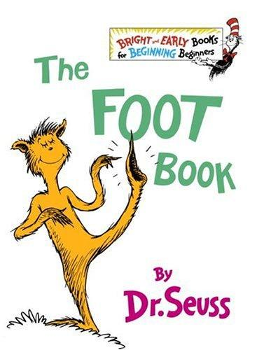 Book cover of FOOT BOOK