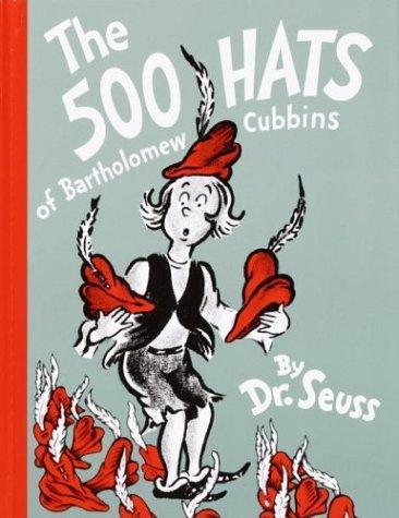 Book cover of 500 HATS OF BARTHOLOMEW CUBBINS