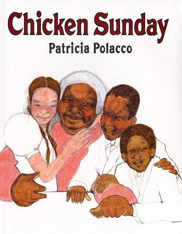Book cover of CHICKEN SUNDAY