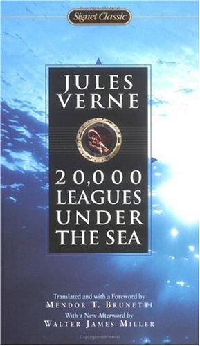 Book cover of 20 000 LEAGUES UNDER THE SEA