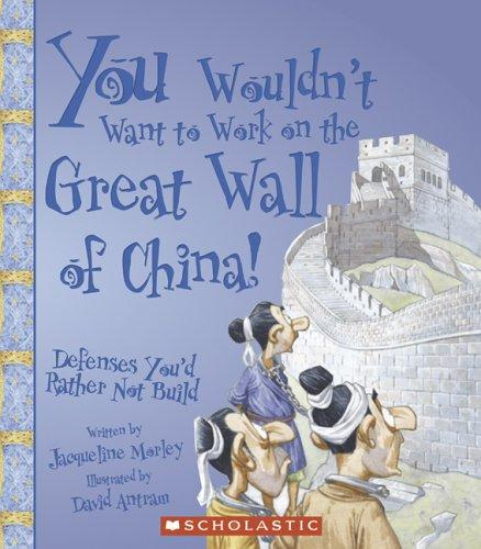 Book cover of YOU WOULDN'T WANT TO WORK ON THE GREAT W