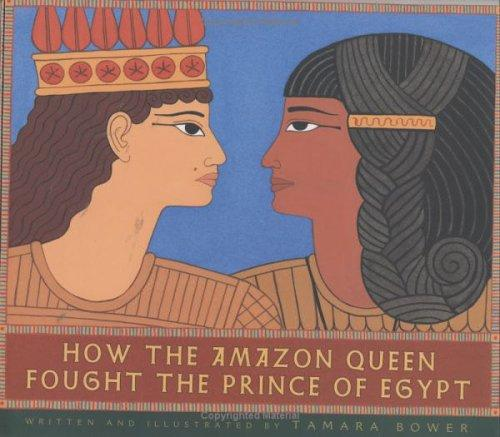 Book cover of HOW THE AMAZON QUEEN FOUGHT THE PRINCE O
