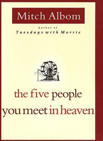 Book cover of 5 PEOPLE YOU MEET IN HEAVEN
