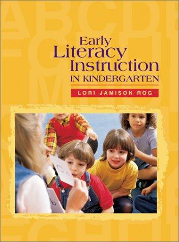 Book cover of EARLY LITERACY INSTRUCTION IN KINDERGART