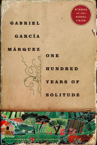 Book cover of 100 YEARS OF SOLITUDE