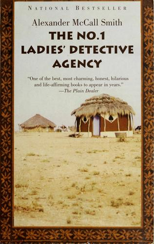 Book cover of NO 1 LADIES DETECTIVE AGENCY