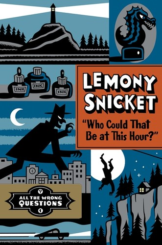 Book cover of WHO COULD THAT BE AT THIS HOUR