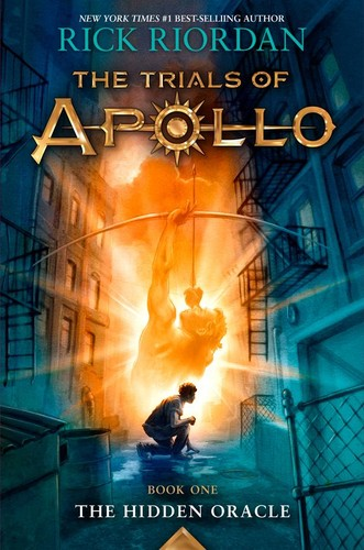Book cover of TRIALS OF APOLLO 01 THE HIDDEN ORACLE