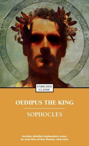 Book cover of OEDIPUS THE KING