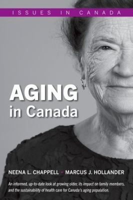 Book cover of AGING IN CANADA